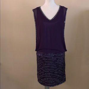 JKara Beaded Dress